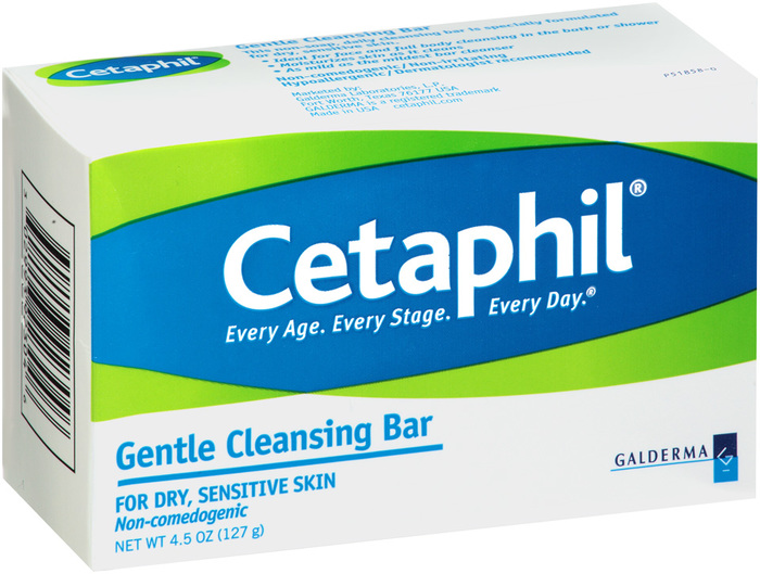 Cetaphil Gentle Cleansing Bar for Dry/Sensitive Skin  - 4.5oz