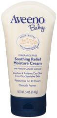 AVEENO Baby Moisture Cream Soothing Relief  -  5 OZ