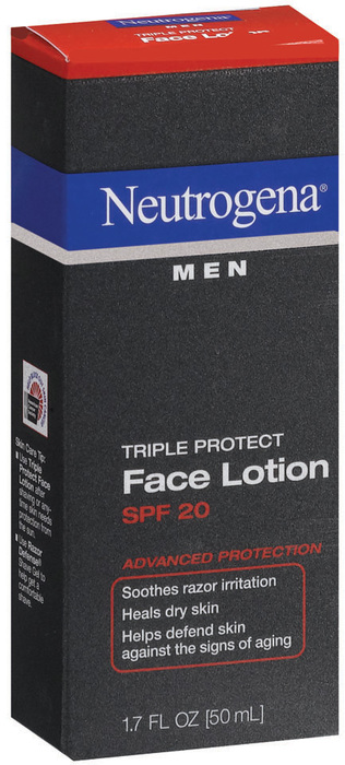Neutrogena Men Triple Protect Face Lotion SPF 20 - 1.7 OZ