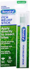 Benadryl Itch Relief Stick, Extra Strength  - 0.47oz