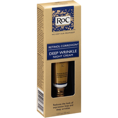 RoC Retinol Correxion Deep Wrinkle Night Cream  -  1 OZ