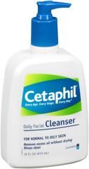 CETAPHIL Daily Facial Cleanser  -  16 OZ