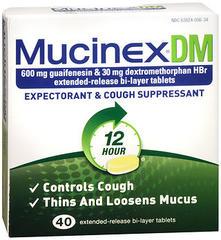 Mucinex DM Extended-Release Tablets  -  40 Tablets