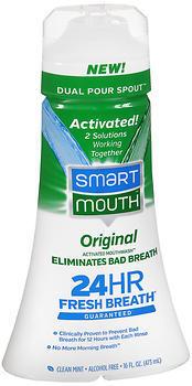 SmartMouth 24-Hour Fresh Breath Mint Flavor  -  16 OZ