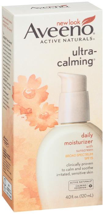 AVEENO Ultra-Calming Daily Moisturizer SPF 15 - 4 OZ