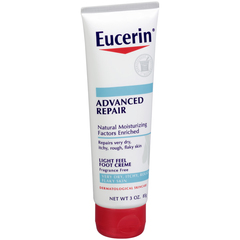 Eucerin Plus Intensive Repair Foot Creme - 3 OZ