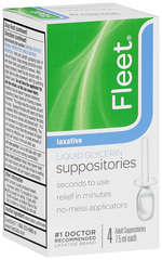 Fleet Liquid Glycerin Suppositories, Adult Rectal Applicators  - 4ea