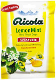 Ricola Throat Lozenges Natural Lemon Mint Sugar Free - 19 Each