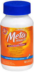Metamucil Plus Calcium Capsules 120 Capsules - 1 Each