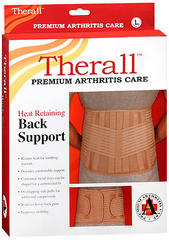 Therall Heat Retaining Back Support Large - 1 Each