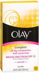 Olay Complete UV Defense Moisture Lotion - 4 Ounces