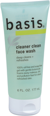 Basis Face Wash Cleaner Clean - 6 Ounces