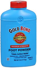 Gold Bond   Powder Medicated - 4 Ounces