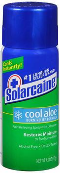 Solarcaine Spray Aloe Extra Burn Relief - 4.5 Ounces