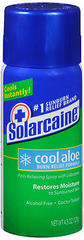 Solarcaine Spray Aloe Extra Burn Relief - 4.5 Ounces