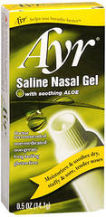AIR' Ayr Saline Nasal Gel - 0.5 Ounces - 1 Each