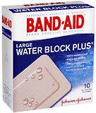 Band-Aid Adhesive Bandages, Large  - 10ea