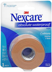 "3M Nexcare First Aid Tape Absolute Waterproof 1"""" X 5 Yards - 5 YD"