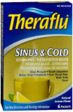 Theraflu Sinus & Cold Packets Natural Lemon Flavor - 6 EA