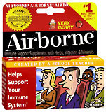 Airborne Effervescent Tablets Very Berry - 10 TB
