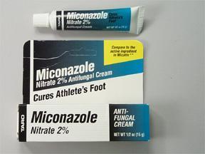 Miconazole Nitrate 2% Antifungal Cream - 0.5 oz