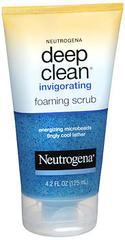 Neutrogena Deep Clean Invigorating Foaming Scrub - 4.2 OZ