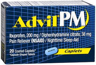 Advil PM Caplets - 20 Caplets