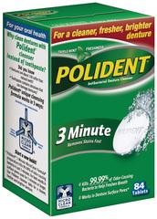 Polident Denture Cleanser, Tablets  - 84ea