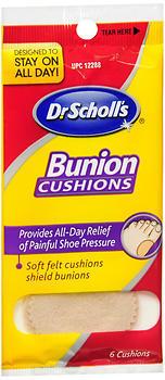 Dr. Scholl's Bunion Cushions Felt - 6 Each