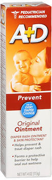A+D Diaper Rash Ointment & All Purpose Skin Protection  - 4oz