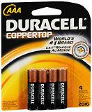 Duracell AAA Alkaline Batteries 4-Pack - 4 EA
