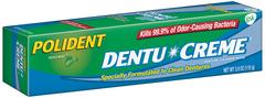 Polident Denture Cleansing Toothpaste, Minty Mouthwash Formula  - 3.9oz