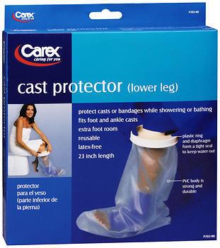 Carex Cast Protector - Lower Leg - 1 Each