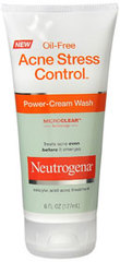 Neutrogena Acne Stress Control Power Cream Wash - 6 Ounces
