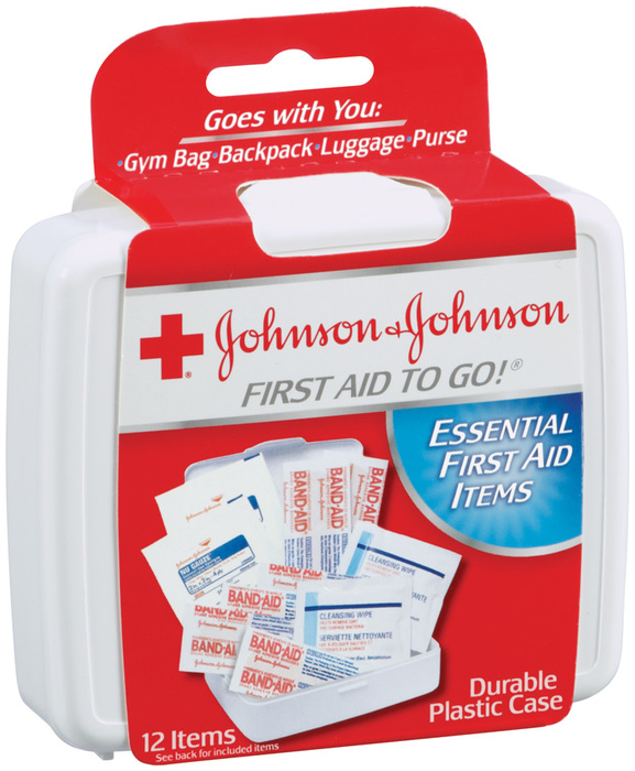 Johnson & Johnson First Aid To Go Kit