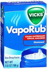 Vicks VapoRub Ointment - 3.53 Ounces
