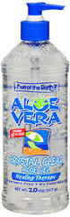 Fruit of the Earth Aloe Vera Crystal Clear Gel - 20 Ounces