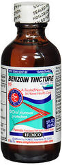 Humco Benzoin Compound Tincture Oral Mucosal Protectant - 2 Ounces