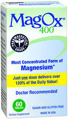 MagOx 400 Magnesium Supplement - 60 Tablets