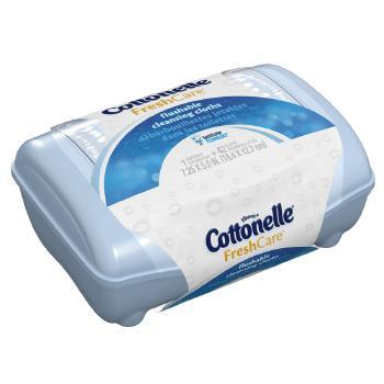 Cottonelle Fresh Care Wipes, Tub - 42 Count