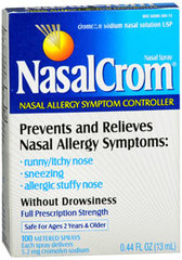 NasalCrom Nasal Allergy Symptom Controller Spray - 0.44 Ounces