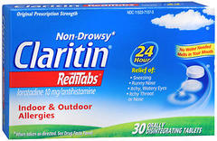 CLARITIN RediTabs 24 Hour Allergy  -  30 Tablets