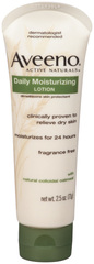 Aveeno Daily Moisturizing Lotion with Natural Colloidal Oatmeal  - 2.5oz