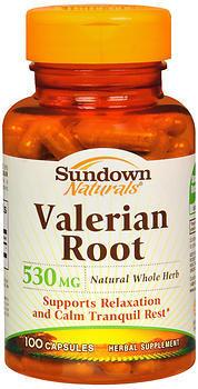 Sundown Naturals Valerian Root Vitamins - 530 mg - 100 Each