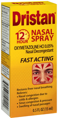 Dristan 12-Hr Nasal Spray  - 0.5oz