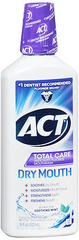 ACT Total Care Anticavity Fluoride Dry Mouth Rinse, Soothing Mint - 18 Ounces