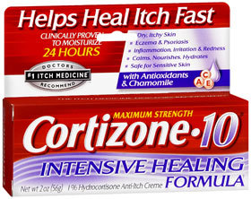 Cortizone 10 Maximum Strength Intensive Healing Formula - 2 Ounces