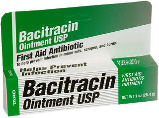 Bacitracin Ointment USP First Aid Antibiotic  - 1 Ounce