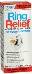Ring Relief Homeopathic Ear Drops - 0.5 Ounces