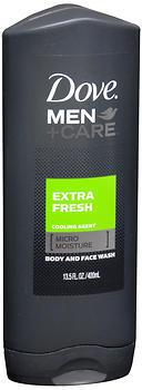 Dove Men Care Extra Fresh Body Wash 13.5 Ounces